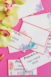 Printable Mother's Day Charades Cards