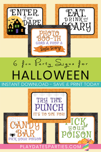 It/'s A Halloween Party  Print