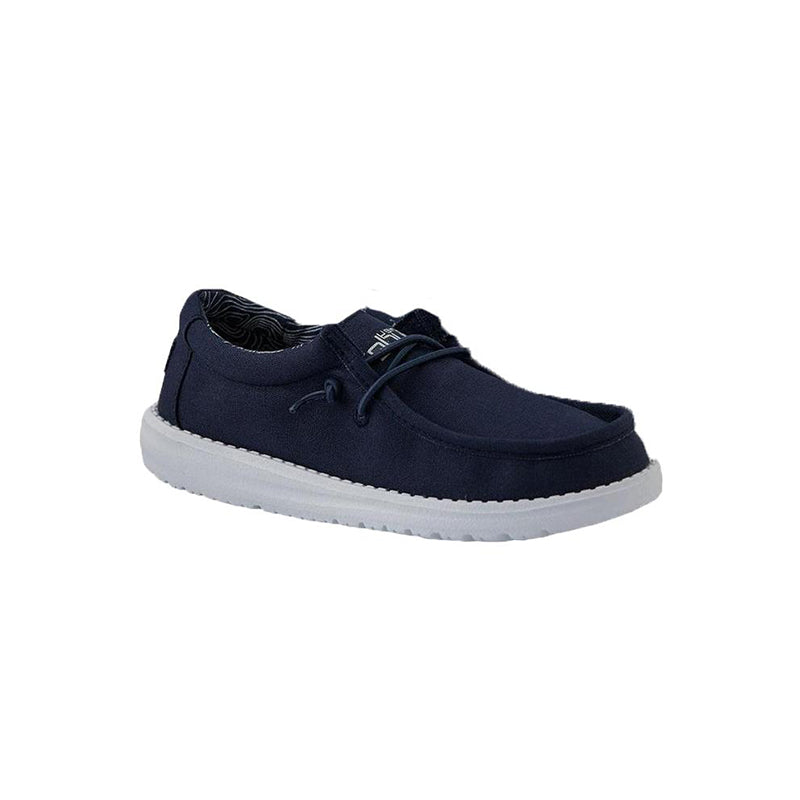 Hey Dude Wally Youth   Tradehome Shoes
