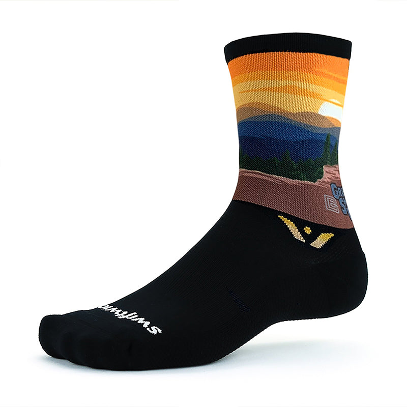 Men's Swiftwick Large Vision National Park Great Smoky Mountain