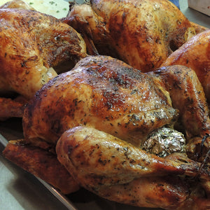 Roasted 'Red Bird' Turkey