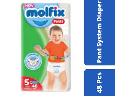 Maya diapers Molfix Pant Diaper Jumbo Junior (12-17 Kg) 48 Pcs