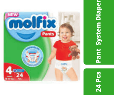 Maya diapers Molfix Pant Diaper Large (9-14 Kg) 24 pcs