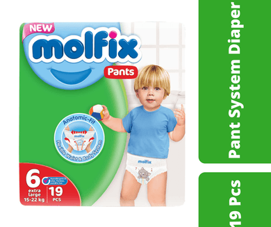 Maya diapers Molfix Pant Diaper xL (15-22 kg) 19 Pcs