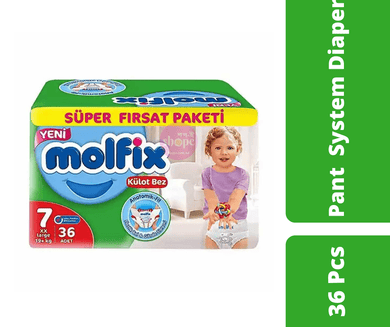 Maya diapers Molfix Pant Diaper XX Large (19+ KG) 36 Pcs