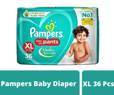 Maya diapers Pampers Baby Diaper XL 36 pcs