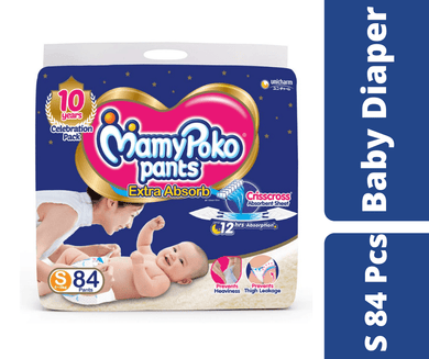 Maya pharmacy diaper MamyPoko Pants Diaper S 84 Pcs