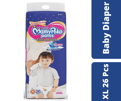 Maya pharmacy diaper Mamypoko Pants Diaper XL 26 Pcs