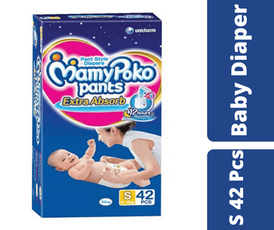 Maya pharmacy diaper Mamypoko Pants S (4-8kg) 42 Pcs