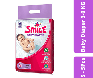 Maya pharmacy diaper Smile Baby Diaper S - 5 Pcs
