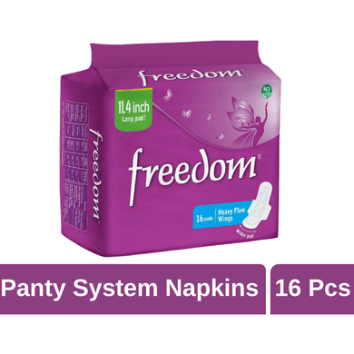 Maya pharmacy Sanitary Pad Freedom Heavy Flow 16 Pads