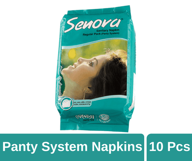 Maya pharmacy Sanitary Pad Senora Regular Pack Napkins 10 pads