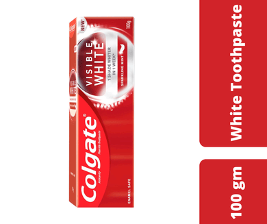 Maya Tooth Colgate Visible White Toothpaste Mint 100 Gm