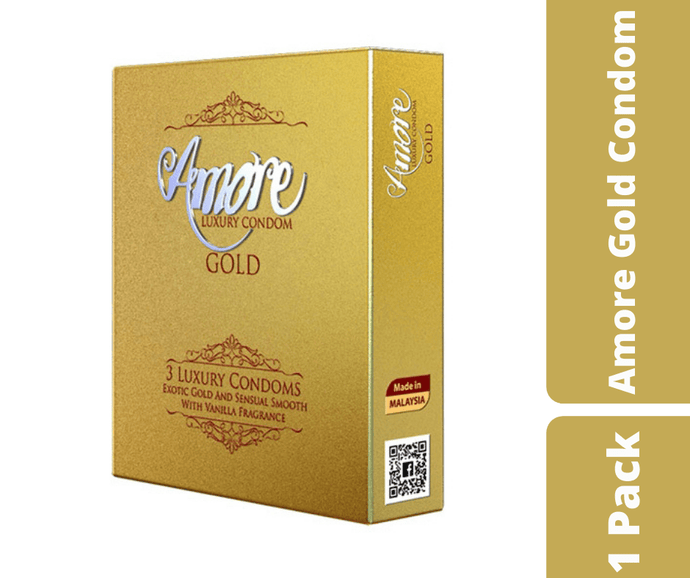 Mayalogy Ltd. Condom Amore Gold Condom 1 Pack