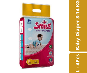 Mayalogy Ltd. diaper Smile Baby Diaper L - 4 Pcs