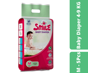 Mayalogy Ltd. diaper Smile Baby Diaper M - 5 Pcs