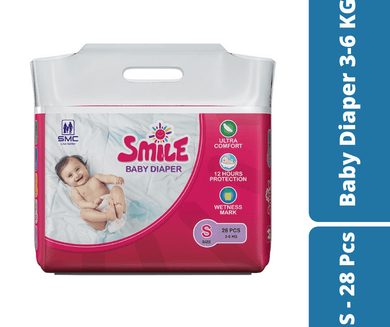 Mayalogy Ltd. diaper Smile Baby Diaper S - 28 Pcs