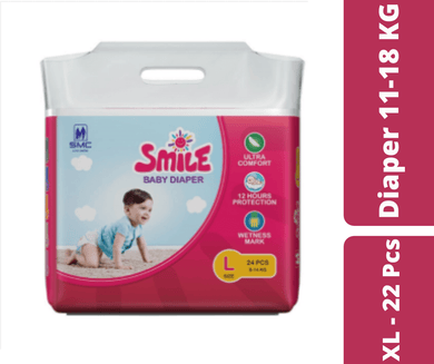 Mayalogy Ltd. diaper Smile Baby Diaper XL - 22 Pcs