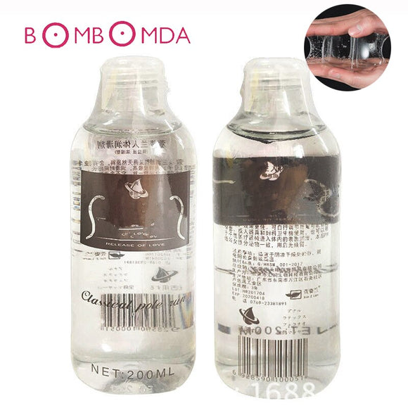 200 ML Sex Lubricant Massage Oil Personal Body Massage Lube Vagina and Anal Lubricating Oil Adult Product Intimate Goods For Sex