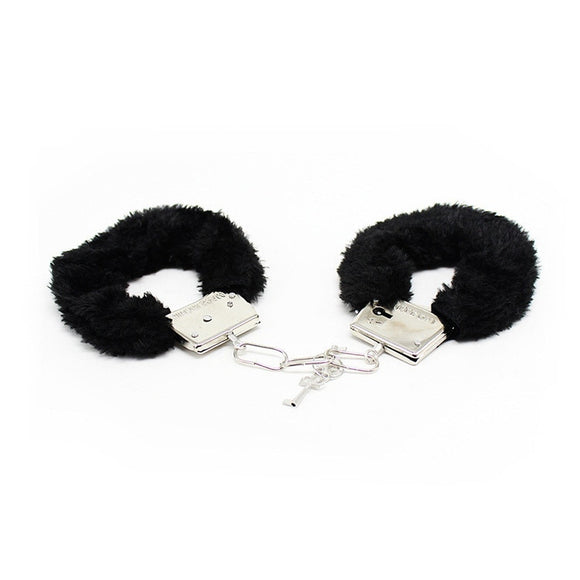 Erotic Sexy Accessories With Adjustable Plush Bundle Handcuffs For Slave Fetish Role Playing BDSM Bondage Sex Game For Couples