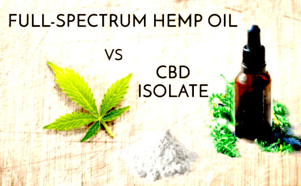 CBD Isolate Vs Full Spectrum CBD - What Are The Key Differences?