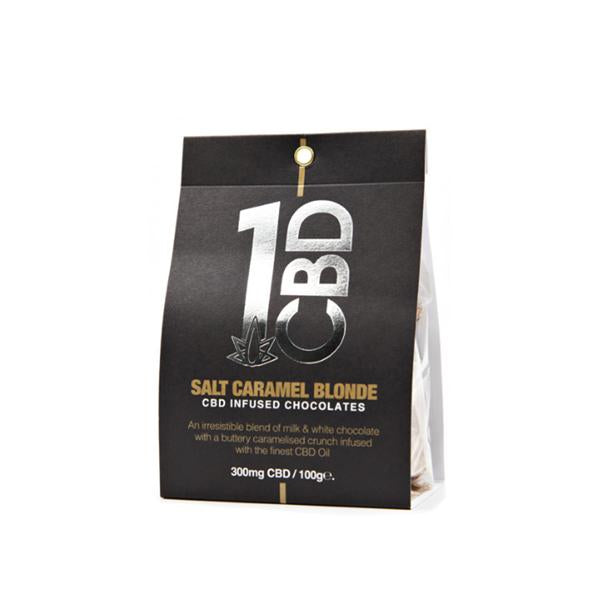 1CBD CBD infused Chocolate 300mg CBD 100g