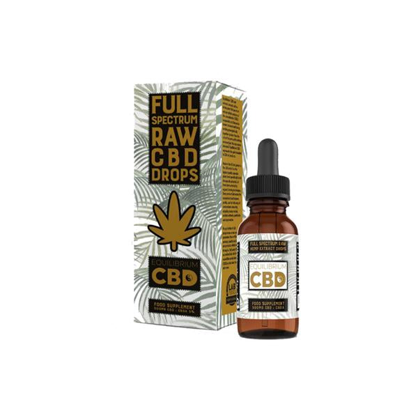 Equilibrium CBD Raw Extract 500mg CBD Oil 10ml