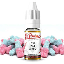 Load image into Gallery viewer, UK Flavour Sweets Range Concentrate 0mg 30ml (Mix Ratio 15-20%)
