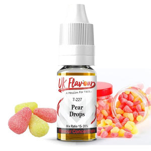 UK Flavour Sweets Range Concentrate 0mg 30ml (Mix Ratio 15-20%)