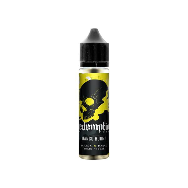 Redemption Vape Shortfill 0mg 50ml (70VG/30PG)