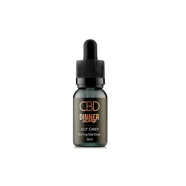 Dinner lady 500mg CBD Oral drops 15ml