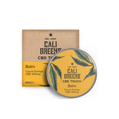 Cali Greens 300mg CBD Cocoa Orange Balm 60ml