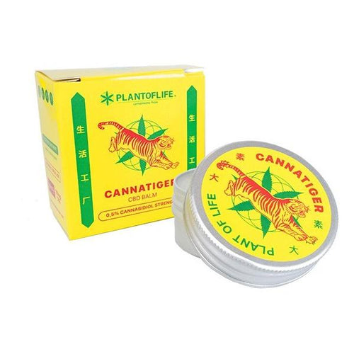 Cannatiger CBD Balm 150mg CBD 30ml