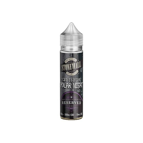 Reserved CBD (500mg CBD : 50mg CBG) 60ml E-Liquid