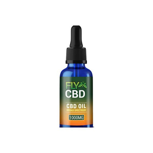 Fly CBD by Aztec 1000mg CBD Oil Drops 30ml
