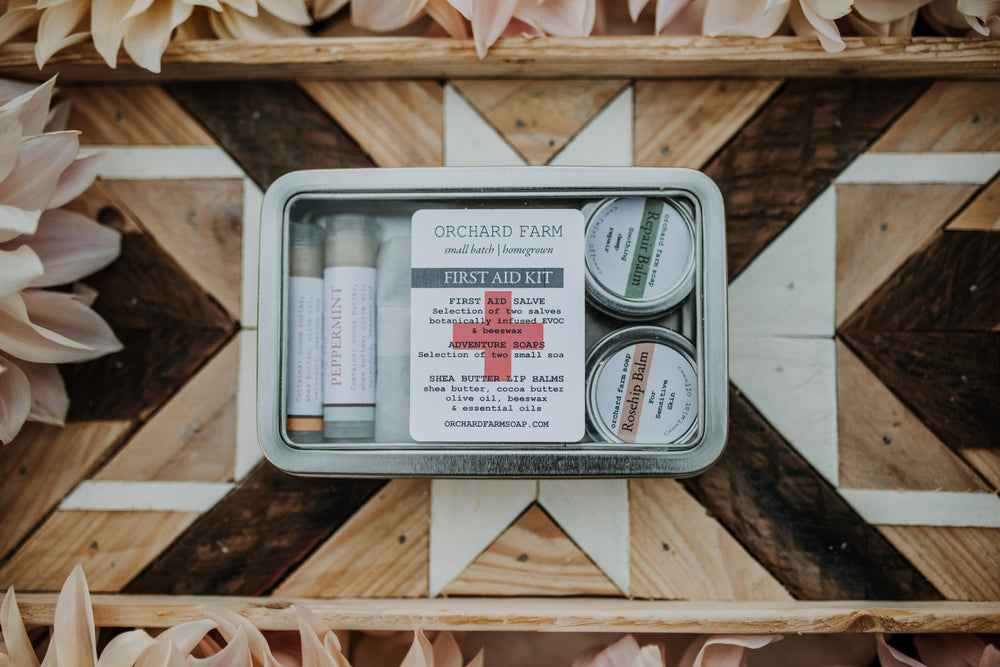 First Aid Kit//Orchard Farm Soap//Nature Cures