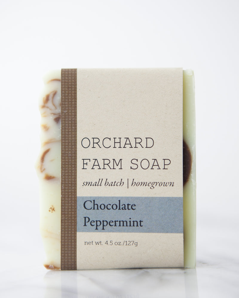 Chocolate Peppermint Soap Bar