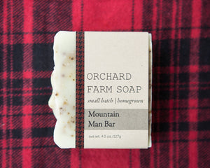 Mountain Man Bar//Natural Soap//Robust Man Bar
