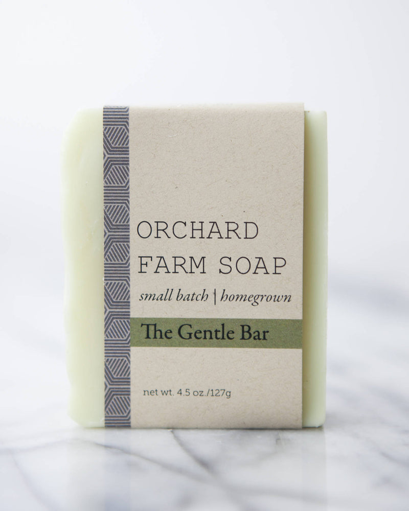 The Gentle Bar// Facial Soap// Gentle Pure Soap
