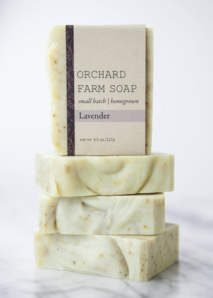 Lavender Soap// Pure Soap// Relaxation// Orchard Farm