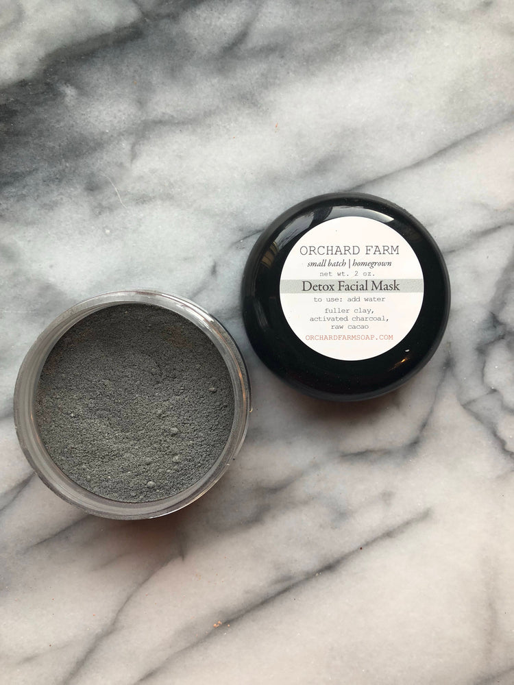 Detox Facial Mask//charcoal//cleasing
