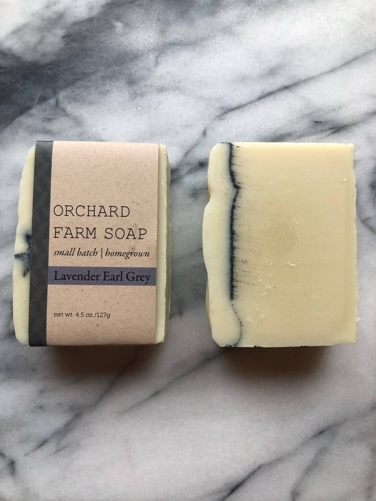 Earl Grey Lavender soap