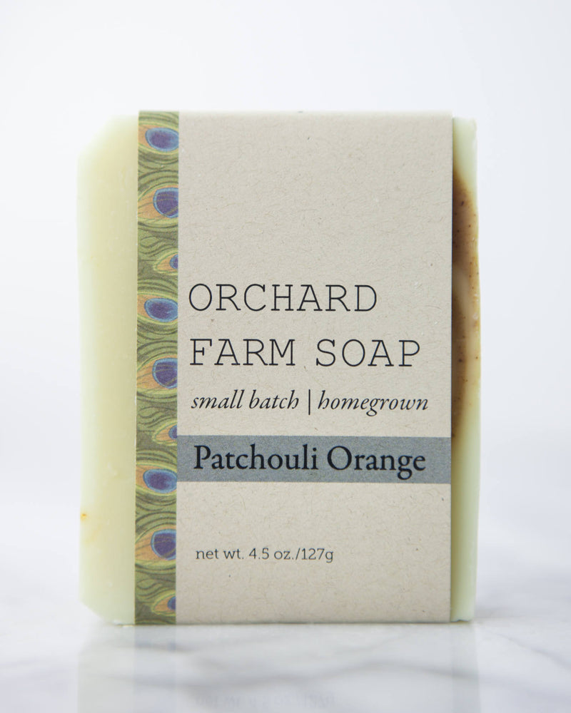 Patchouli Orange//Natural Soap//Small Batch//Homegrown