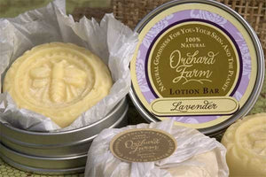 Lavender Lotion Bar//Shea Butter//Solid Lotion