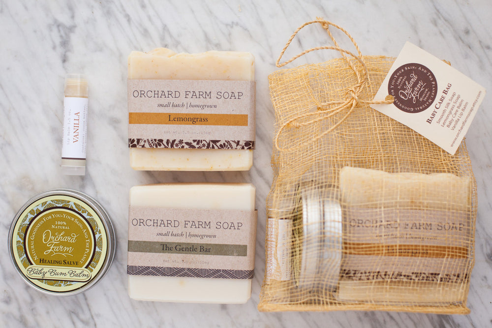 Baby Care Gift Set//Natural Baby Care//Mama Care//Orchard Farm Goodness