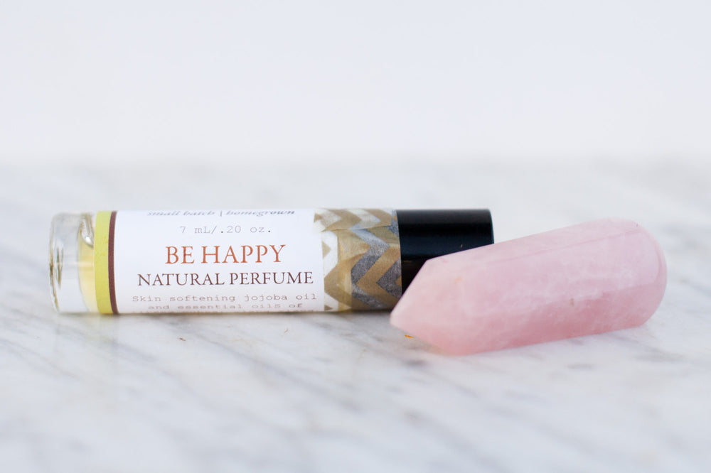 Be Happy Natural Perfume//Orchard Farm