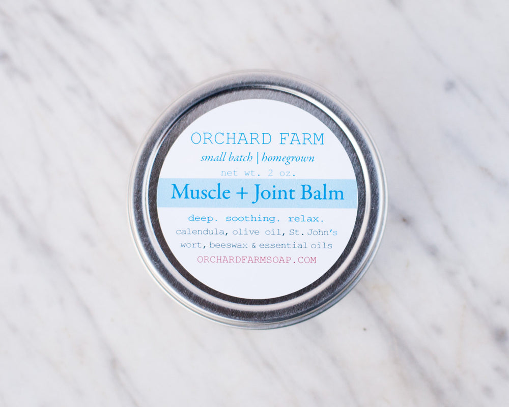 Muscle + Joint Salve// St Johns Wort// Herbal Salve// Homegrown Herbs