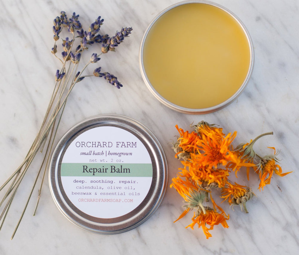 Repair Balm//Calendula Salve//Natural Skin Repair