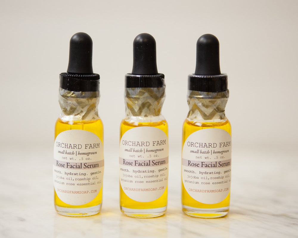 Rose Facial Serum//Nourishing Facial Oil//Gentle Facial Care