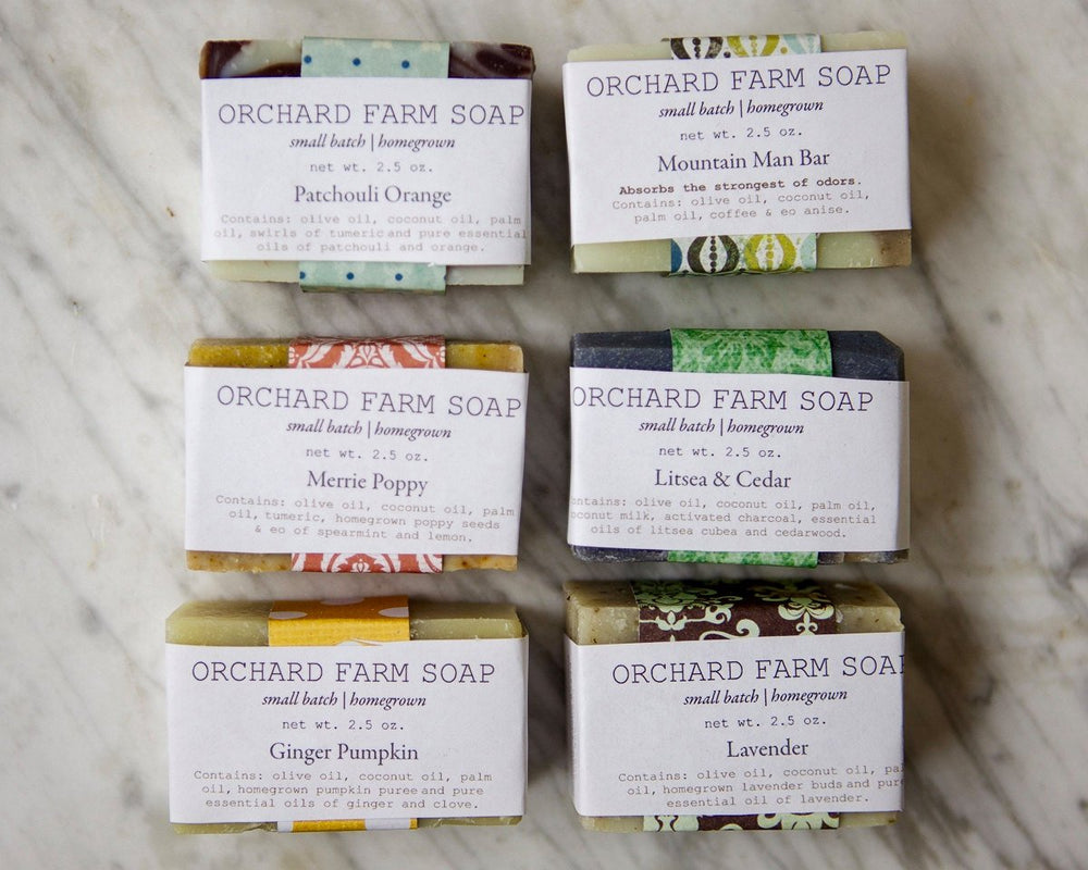 Natural Soap//Gift Set//Six Soap